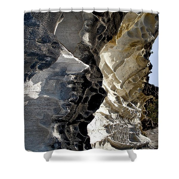 Corrosion By Nature Shower Curtain by Kaye Menner