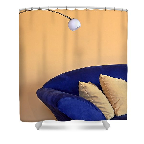 Couch Shower Curtain by Joana Kruse