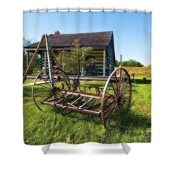 Country Classic oil Shower Curtain by Steve Harrington