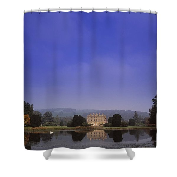 Curraghmore House, Portlaw, Co Shower Curtain by The Irish Image Collection