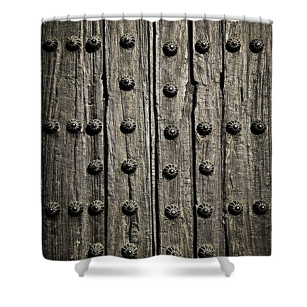 Door detail Shower Curtain by Elena Elisseeva