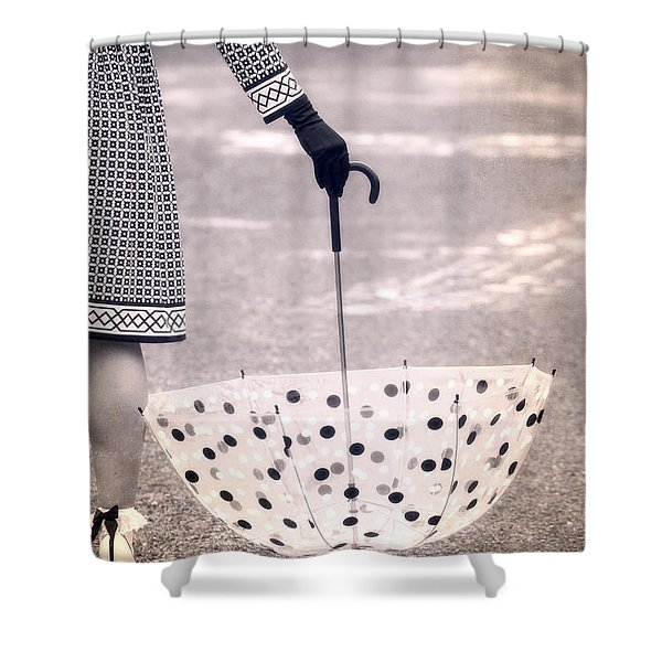 Dotted Shower Curtain by Joana Kruse