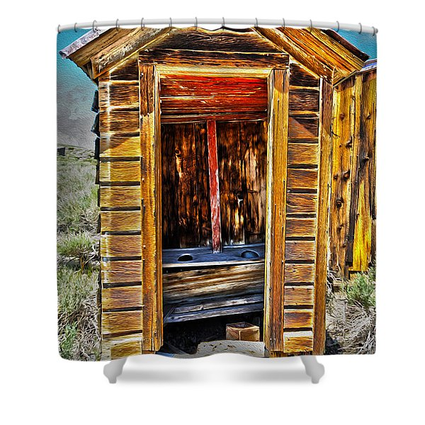 Double Header Shower Curtain by Cheryl Young
