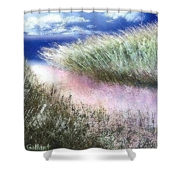 Dune Path Shower Curtain by Joseph Gallant
