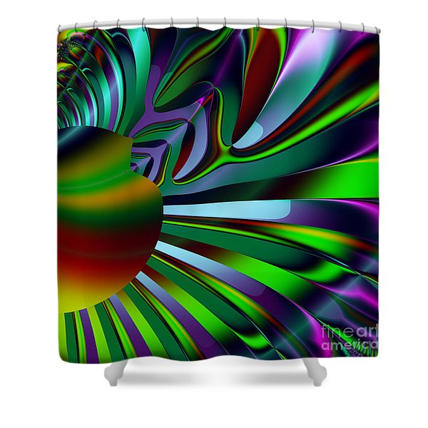 Eichler Is Lost . Square . S9 Shower Curtain by Wingsdomain Art and Photography