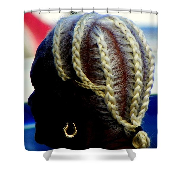 Elegance of Age Shower Curtain by KAREN WILES