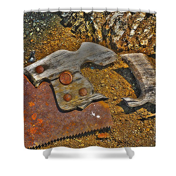 Elements Shower Curtain by Cheryl Young