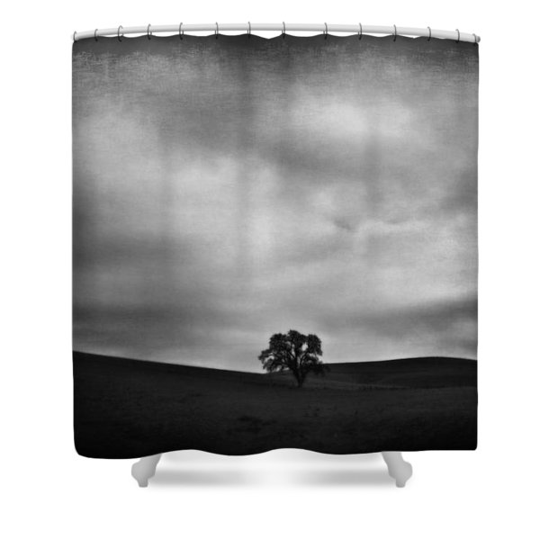 Emptiness Shower Curtain by Laurie Search
