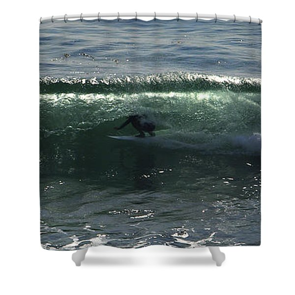Enclosed Shower Curtain by Joe Schofield