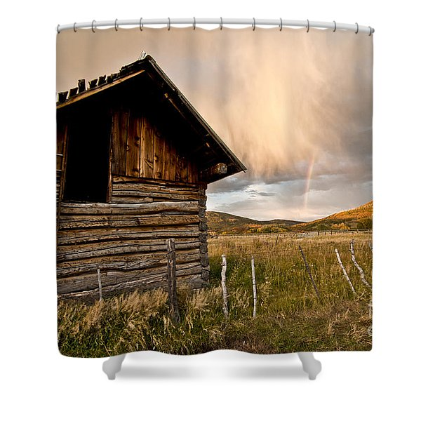 Evening Storm Shower Curtain by Jeff Kolker