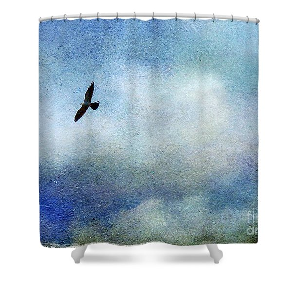 Far Above Shower Curtain by Judi Bagwell