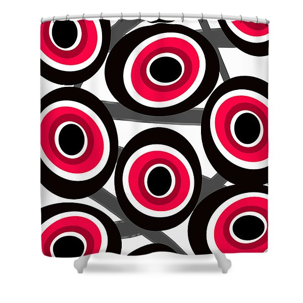 Fashion Spots  Shower Curtain by Louisa Knight