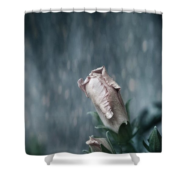 Feels Like The First Time Shower Curtain by Laurie Search