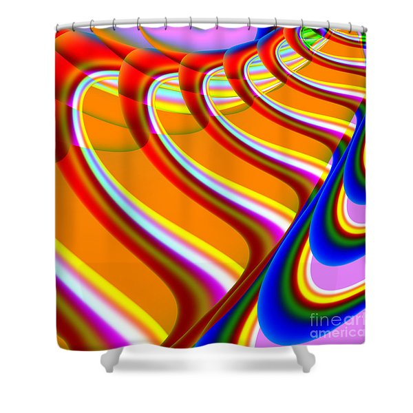 Finding Love . S15 Shower Curtain by Wingsdomain Art and Photography
