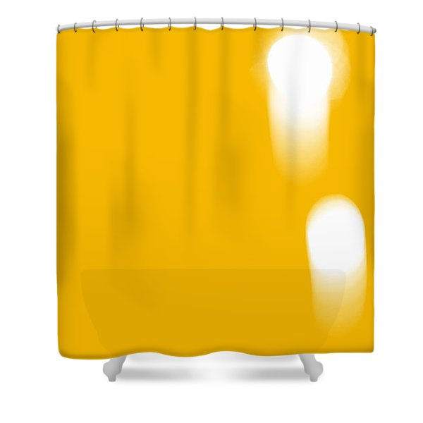 Firework Abstract ll Shower Curtain by Michelle Calkins