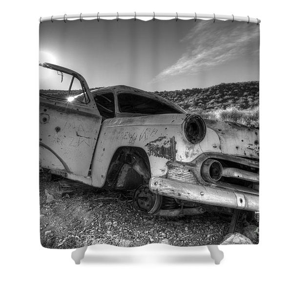 Fixer Upper Shower Curtain by Bob Christopher