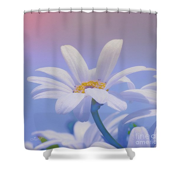 Flower For You Shower Curtain by Jutta Maria Pusl