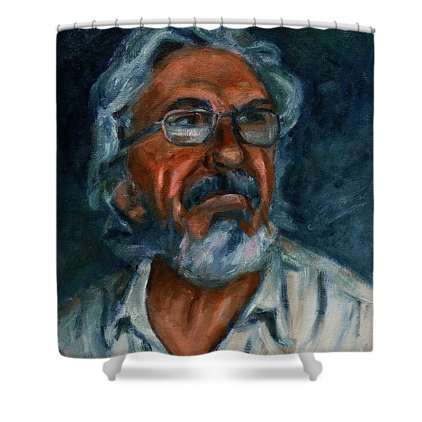 For Petko Pemaro Shower Curtain by Xueling Zou