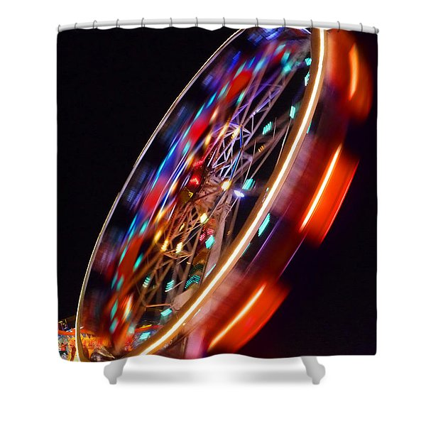 Force Shower Curtain by Charles Stuart