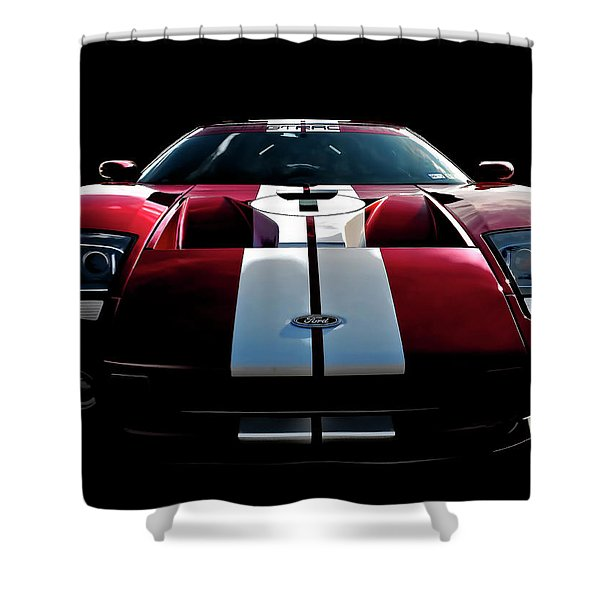 Ford Gt Shower Curtain by Douglas Pittman