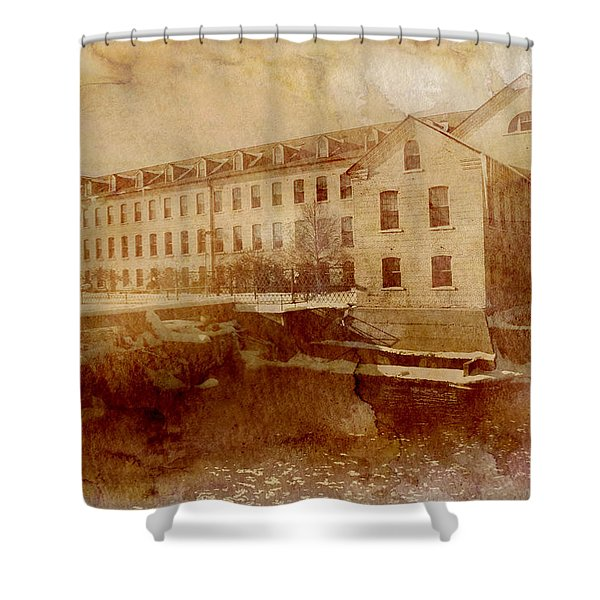 Fox River Mills Shower Curtain by Joel Witmeyer