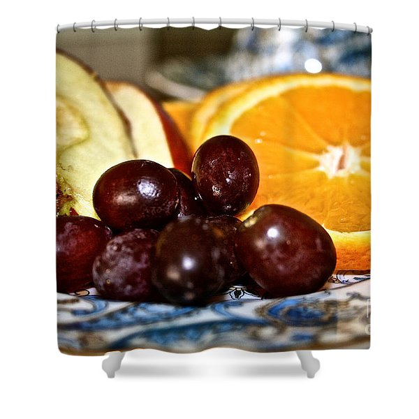 Fresh Start Shower Curtain by Susan Herber