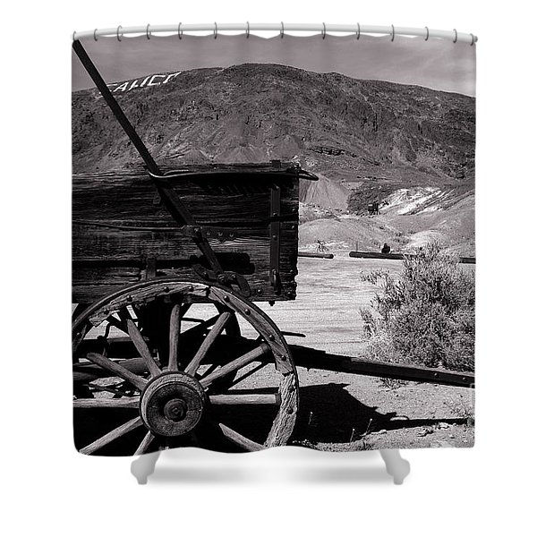 From the Good Old Days Shower Curtain by Susanne Van Hulst