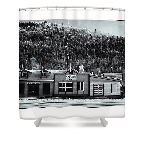 Front Street Shower Curtain by Priska Wettstein