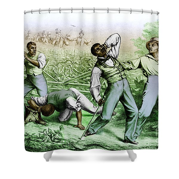 Fugitive Slave Law Shower Curtain by Photo Researchers