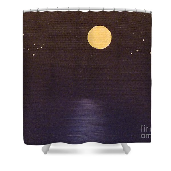 Gemini and Libra Shower Curtain by Alys Caviness-Gober