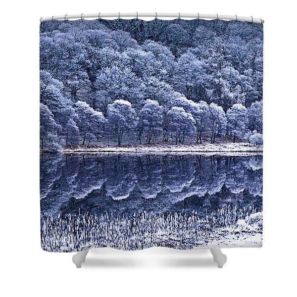 Glendalough National Park, County Shower Curtain by Richard Cummins