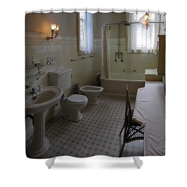 HAAS LILIENTHAL HOUSE VICTORIAN BATH - SAN FRANCISCO Shower Curtain by Daniel Hagerman