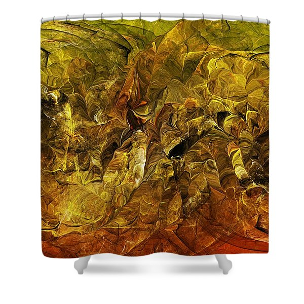 Heat Of The Battle Shower Curtain by David Lane