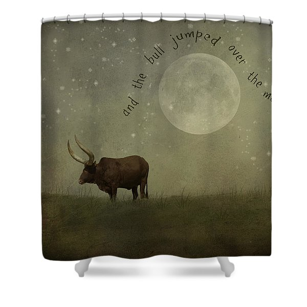 Hey Diddle Diddle  Shower Curtain by Juli Scalzi