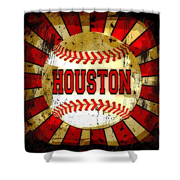 Houston Shower Curtain by David G Paul
