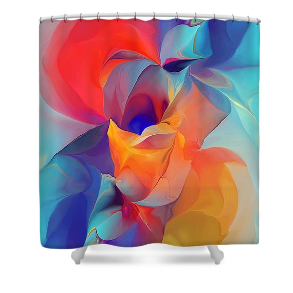 I Am So Glad Shower Curtain by David Lane