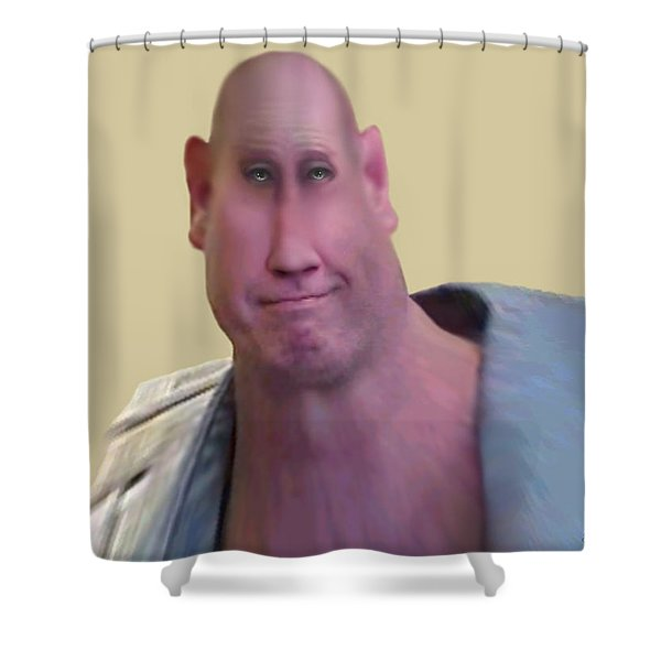 I LIFT THINGS UP AND PUT THEM DOWN Shower Curtain by Brian Wallace