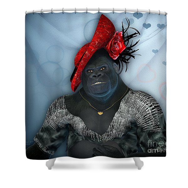 In Disguise Shower Curtain by Jutta Maria Pusl