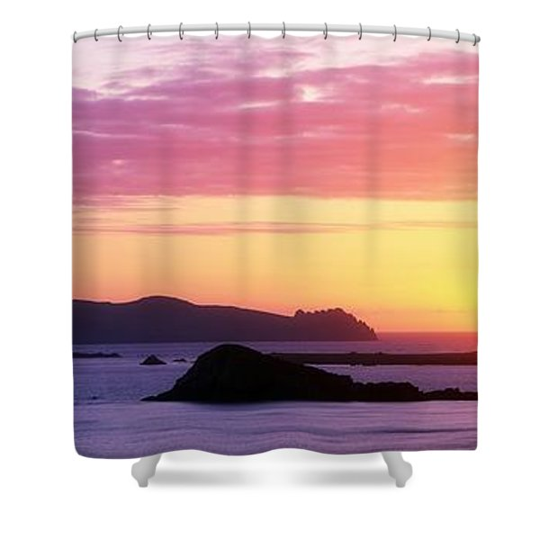 Inishtookert Island Blasket Islands, Co Shower Curtain by The Irish Image Collection
