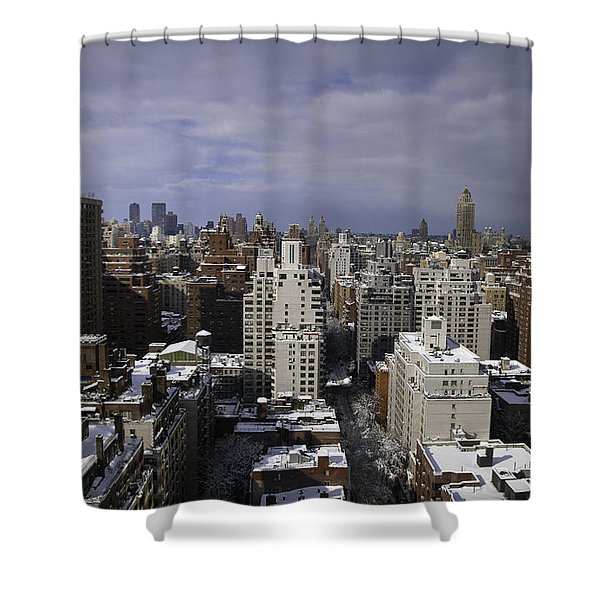 Inside Looking Out Shower Curtain by Madeline Ellis