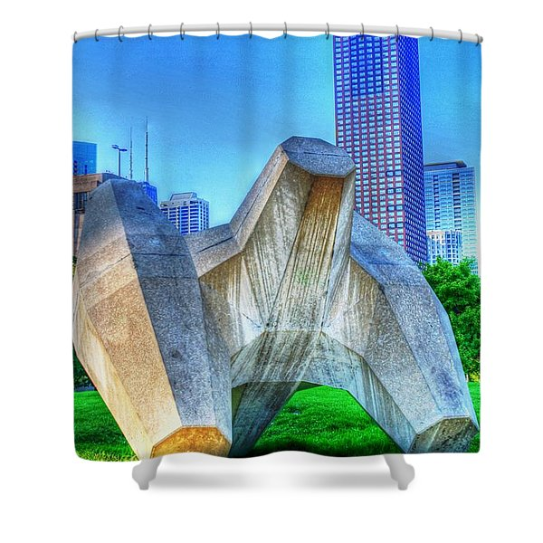Jack City Shower Curtain by Dan Stone