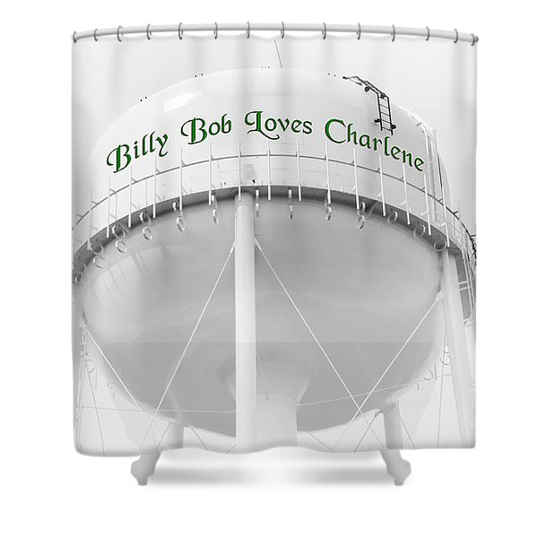 John Deere Green Shower Curtain by Andee Design
