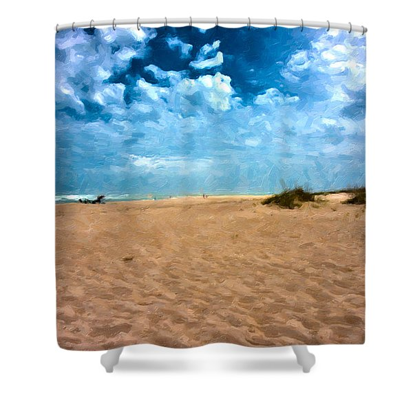 Lazy Day Shower Curtain by Betsy C  Knapp