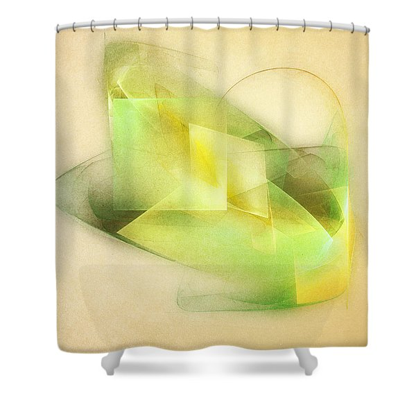 Lemon Lime Shower Curtain by Scott Norris
