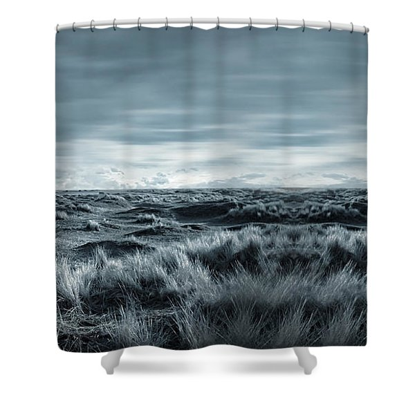 Lone Shower Curtain by Lourry Legarde