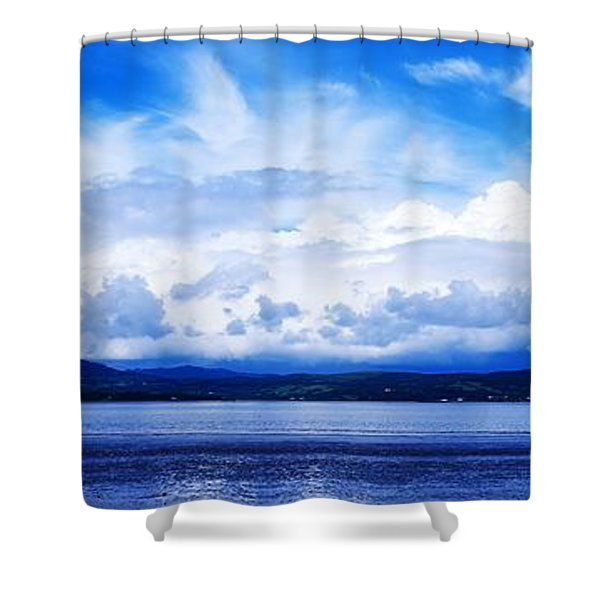 Lough Swilly, County Donegal, Ireland Shower Curtain by The Irish Image Collection
