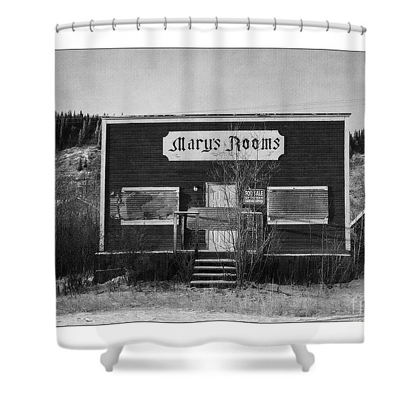 Mary's Rooms Shower Curtain by Priska Wettstein