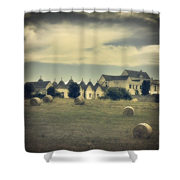 Masseria Shower Curtain by Joana Kruse