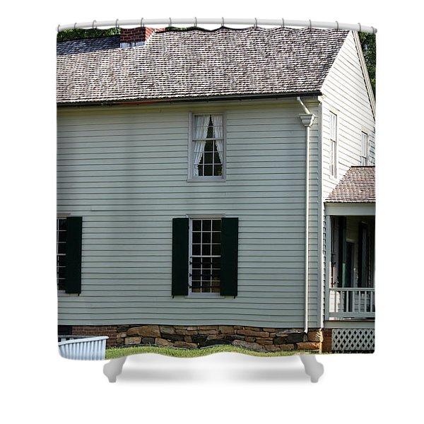 Meeks Store Appomattox Court House Virginia Shower Curtain by Teresa Mucha