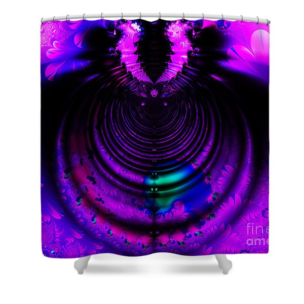 Melting Pot . Horizontal Cut . S8a.S11 Shower Curtain by Wingsdomain Art and Photography